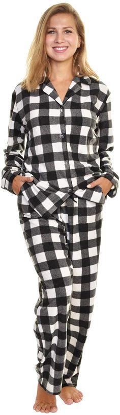Girls Polar Bear Chillin 100/% Cotton Checked Long Pyjamas