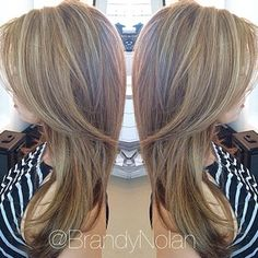Light brown hair with subtle highlights