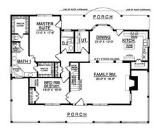 The Carney Place Cape Cod Farmhouse has 3 bedrooms and 3 full baths. See amenities for Plan 030D-0012.