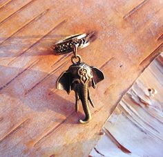 Antiques Brass Elephant Charm ADD to your DREADS Dreadlock Accessory Extension Accessories Dread Boho Bohemian Hippie Bead by PurpleFinchStore on Etsy