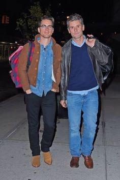 Matt Bomer & Simon Halls.....no comments, photo says it all, right ? Love both.  Twitter