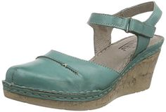 Manitu 920215 Damen Geschlossene Sandalen mit Keilabsatz - http://on-line-kaufen.de/manitu/manitu-920215-damen-geschlossene-sandalen-mit