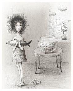 i love her works..... Russian Artist Elena Lishanskaya