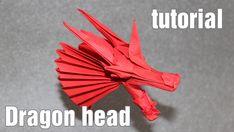 Origami Dragon Head tutorial (Henry Phạm)