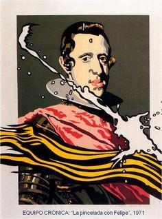 """""""La pincelada con Felipe"""" Fecha: 1971"""