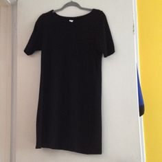 T shirt dress Gently used, short sleeve, cotton, casual Old Navy Dresses