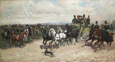 Giuseppe Gabani(1846–1899) The Return from Capannelle