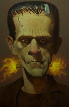 Frankenstein - By Daniel R. Horne
