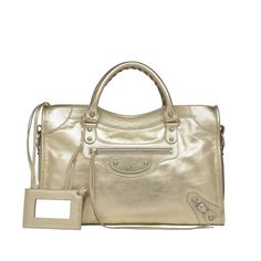 Introducing the latest collection from Balenciaga, the Metallic Bags. The  metallic finish lambsk. 9aba03a1ea