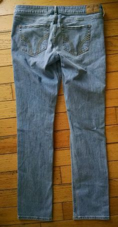 Womens Girls Hollister Jeans 11 R 30 x 33 in Clothing, Shoes & Accessories | eBay
