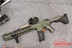 SHOT Show 2013 - War Sport Industries - LVOA Rifle      Phillip Michael's Interpretation: #awesome #wicked #cool #exotic #inspiring #inspiration #flying-object #fire #weapons #gun #guns #pistol #2ndammendment #rights #protection #defense #rifles