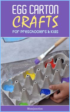 3 Creative Egg Carton Crafts For Preschoolers And Kids