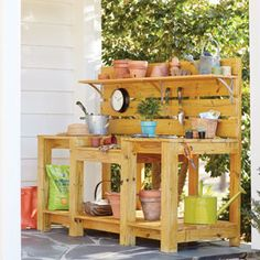 Build the Gardener's Ultimate Potting Bench | Garden Club