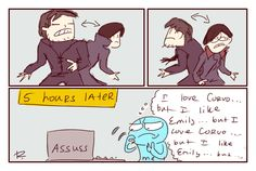 dishonored 2, doodles 2 by Ayej