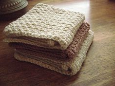 Dishcloths - free knit and crochet patterns