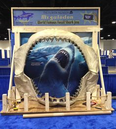 Custom backdrop banner for our friends at the Florida Aquarium!