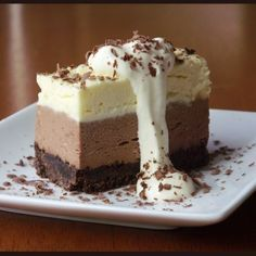 These Tastes of Mine: Triple Chocolate Cheesecake ✿.