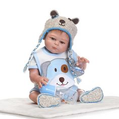 """89.96$  Watch here - http://alih32.shopchina.info/go.php?t=32808260494 - """"Real bebe boy girl doll reborn 20""""""""50CM full silicone body reborn dolls child love birthday gift can enter water bonecas reborn"""" 89.96$ #buychinaproducts"""