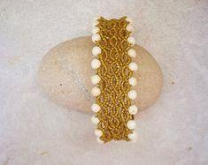 Handmade original jewellery made in Crete by GoldenLotusJewellery Handmade Jewellery, Unique Jewelry, Handmade Gifts, Crete, How To Feel Beautiful, Lotus, Jewelry Making, Beaded Bracelets, The Originals