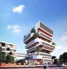 #huniarchitectes #vietnam #danang  #fptuniversity #alphabuilding #books #architecture #vietnamarchitecture