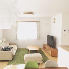 fumiさんの、Lounge,無印良品,マリメッコ,北欧,リビングダイニング,イームズチェアについての部屋写真