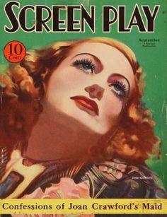 Joan Crawford - Screen Play - September 1933