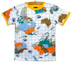 Around the World TShirt by lmkremer on Etsy, $28.00