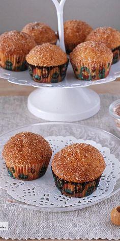 Minicupcakes de donut