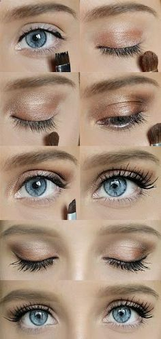 Try out this Simple Quick Makeup look today! Its easy and cute for a casual Tuesday. Here is the link to see a step by step and what products were used -