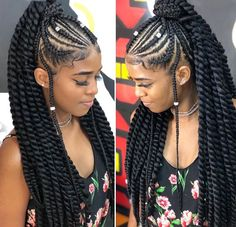10 Cornrow Hairstyles for Girls to Look Fab – Child Insider Braided Cornrow Hairstyles, Braided Hairstyles For Black Women, African Braids Hairstyles, Braids For Black Hair, Girl Hairstyles, Cornrows Ponytail, Beautiful Braids, Girls Braids, Braid Styles