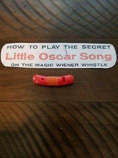 Vintage 1950/'s Oscar Mayer Weiner//Wiener Whistles Qty. 5