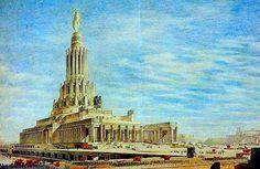 так видели в СССР самые высокое здание Европы!