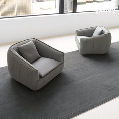 | FURNITURE | adore the #BasketCollection from #PaolaLenti. The combination layered with #gray textured comfort.