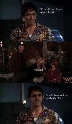 Buffy and Xander from Buffy the Vampire Slayer.