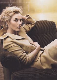 fall inspiration. kate winslet.