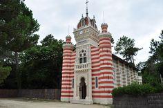 Chapelle de la Villa algérienne, village de L'Herbe, Lège-Cap Ferret, Gironde, Aquitaine, France.   Flickr: Intercambio de fotos