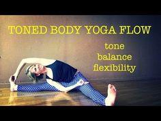 40 min Toned Body Yoga Flow #3   Tone, Balance, Flexibility   Half Moon