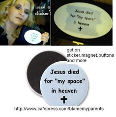 cool buttons and other unique gifts  here   http://www.facebook.com/photo.php?fbid=10150662437570658=a.50851425657.74002.535115657=1