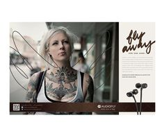 Audiofly Headphones by Brett Layton, via Behance