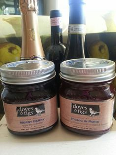 Nantucket Wine Festival breakfast jam from Doves and Figs
