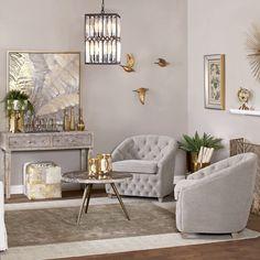Glam Living Room, Elegant Living Room, Formal Living Rooms, Home And Living, Living Room Decor, Luxury Living Rooms, Foyers, Living Room Inspiration, My New Room