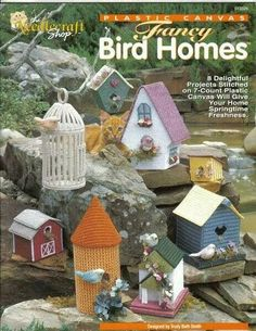 Cover Only Fancy Bird Homes 1/12 NCS-913326 plastic canvas