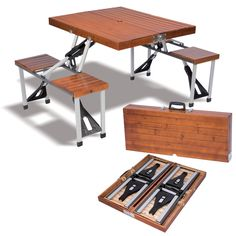 Table Pliante Camping Valise Populair