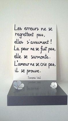 affiche citation Simone Veil affiche illustrée à