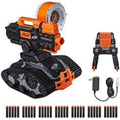 TerraScout Recon Nerf Toy RC Drone N-Strike Elite Blaster with Live Video Feed 18 Official Nerf Elite Darts and Rechargeable Battery For Kids, Teens, and Adults - Toys Summer Crafts For Kids, Gifts For Kids, All Nerf Guns, Toys For Boys, Kids Toys, Armas Airsoft, Arma Nerf, Armadura Ninja, Pistola Nerf