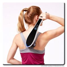 Electric Brush Massager //Price: $58.99 & FREE Shipping // #results #fitness Electric Brush Massager Cervical Vertebrae, Vértebra Cervical, Back Massager, No Equipment Workout, Hustle, Health Care, Instruments, Electric, Beauty