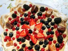 "Tort ""Bezowa krówka"" Fruit Salad, Fruit Salads"