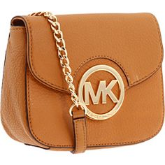 Tan MICHAEL Michael Kors Cross Body Bag – Fulton Small Crossbody