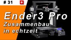 Creality Ender 3 Pro (zusammenbau in Echtzeit) (Teil Videos, Printer, Youtube, 3d Printer, Tutorials, Printers, Video Clip