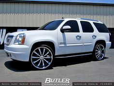 GMC Denali with 26in Lexani LSS10 Wheels | Flickr - Photo Sharing!